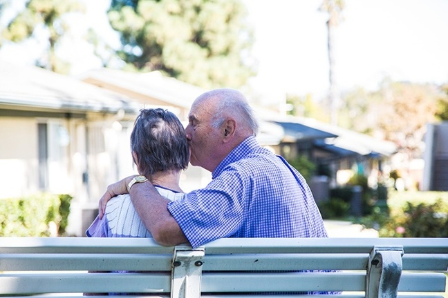 Aging in place: senior living communities allow couples to stay together