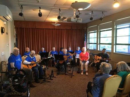 The Hootenanny Ensemble visits Grand Lake Gardens