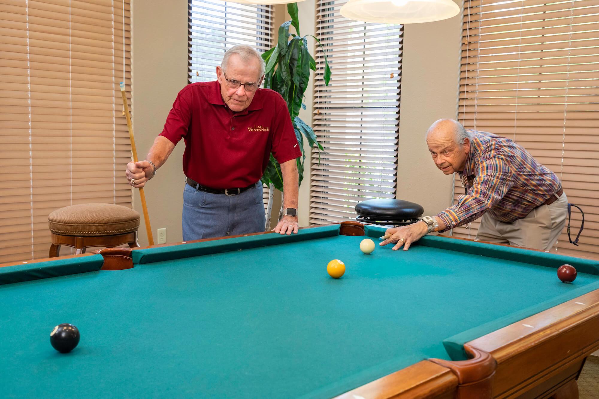 9 - playing pool