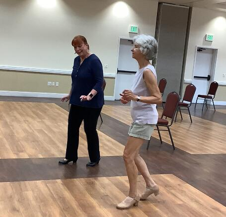 Terraces of Phoenix resident shares love of tap dancing with neighbors
