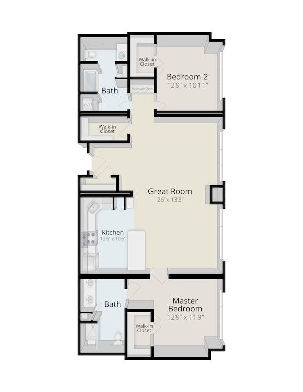 rydal-park-residence-Hillside_FairwayTwoBedroomwithGreatRoom_1360SF_3D