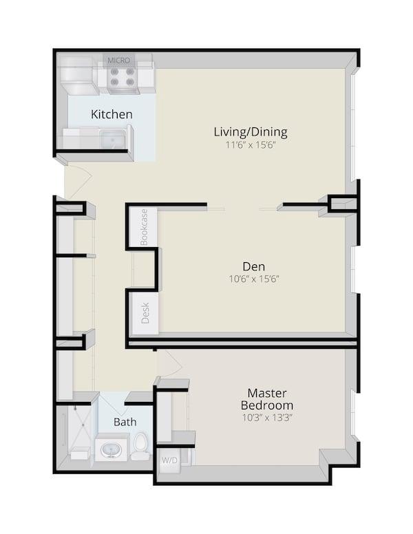 rydal-park-residence-Hillside_OneBedroomDen_760SF_3D