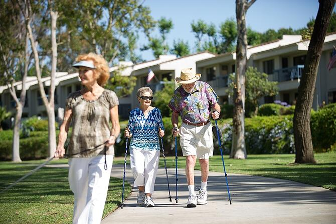 Senior exercise and fall prevention
