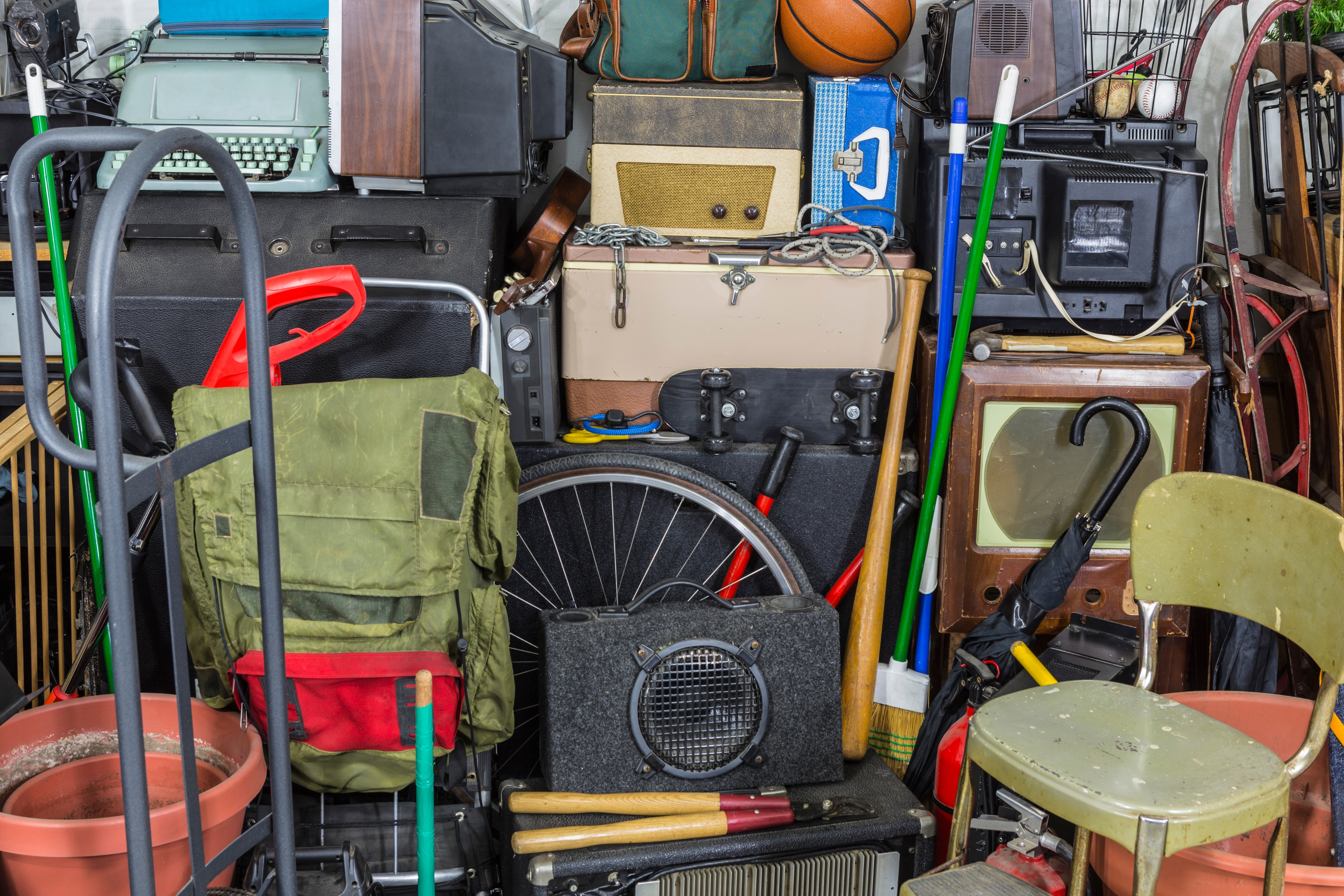 Helping parents clean out and downsize