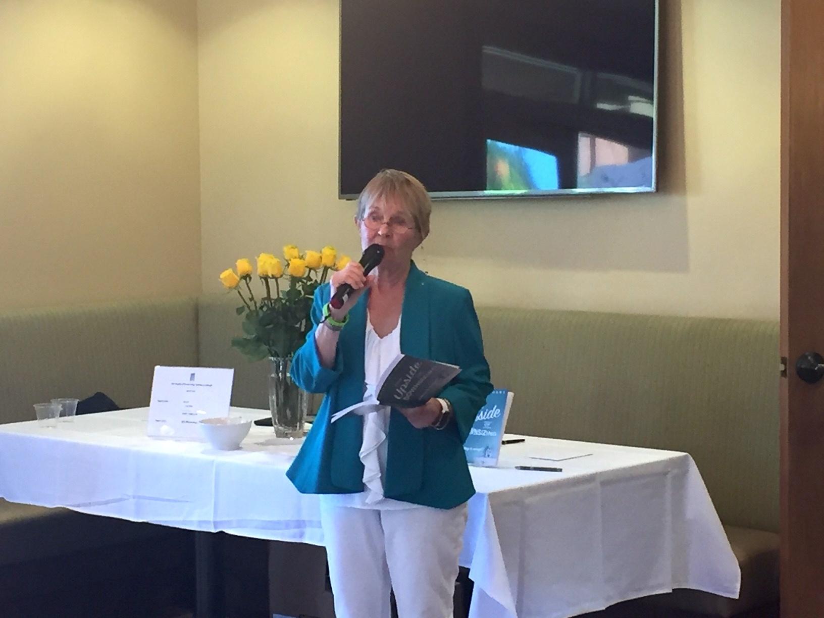 """Sara Hart, author of """"The Upside of Downsizing"""""""