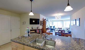 Sound View Residential Living Residence - Kitchen