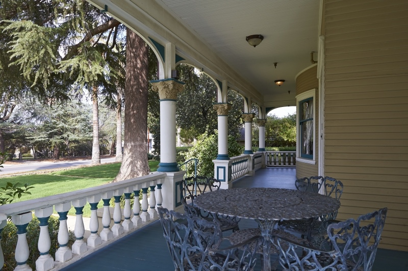 porch at Kendall House