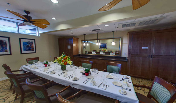 Residential Living ResidenceaPrivate Dining Room