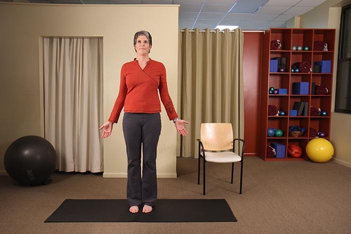 Fall prevention yoga balance poses